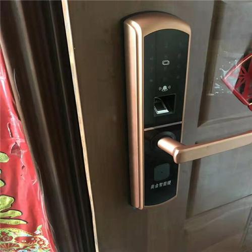 高平市指纹锁安装的做法