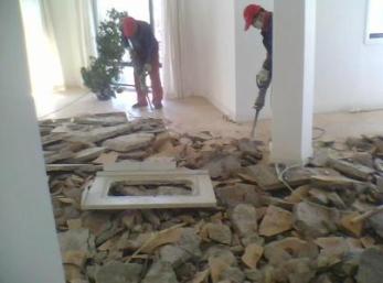 拱墅区专业室内外拆除砸墙