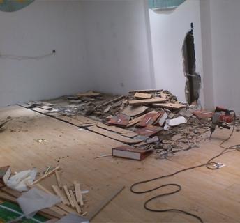 拆除施工作业前的准备工作