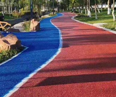 宁波彩色生态混凝土透水地坪系统