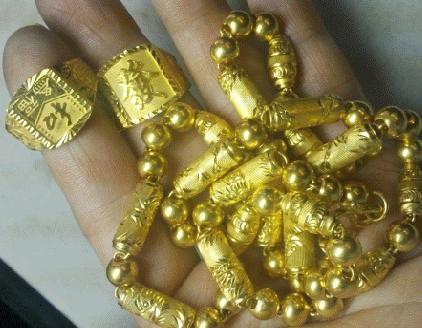 大同高价黄金白金首饰回收