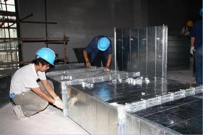 宁波通风管道制作安装白铁不锈钢通风工程设计