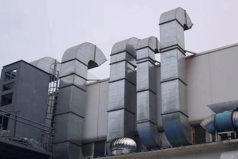 宁波通风管道油烟管道油烟罩排烟管道加工安装
