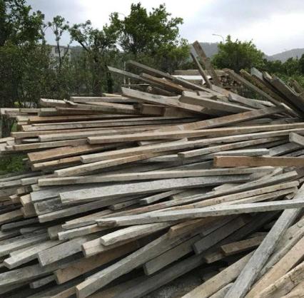 浙江方木回收木模板回收
