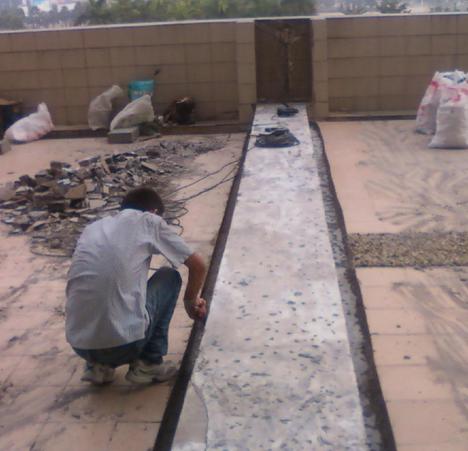 成都民用建筑工程的防水补漏施工