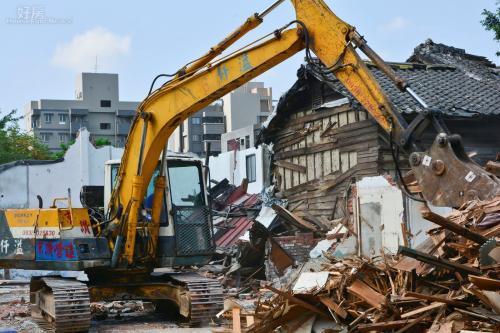 建筑物拆除的方法