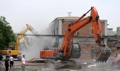 佛山挖掘机拆除注意事项