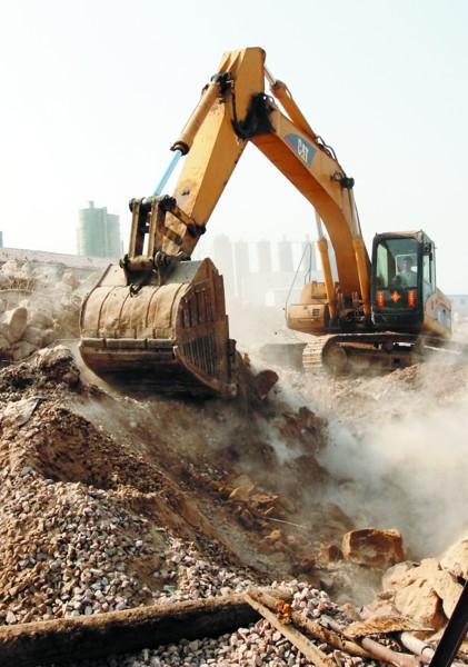佛山履带式挖掘机拆除怎么选