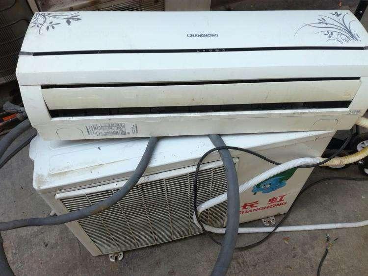 绵阳长虹空调维修 空调移机安装加液清洗保养
