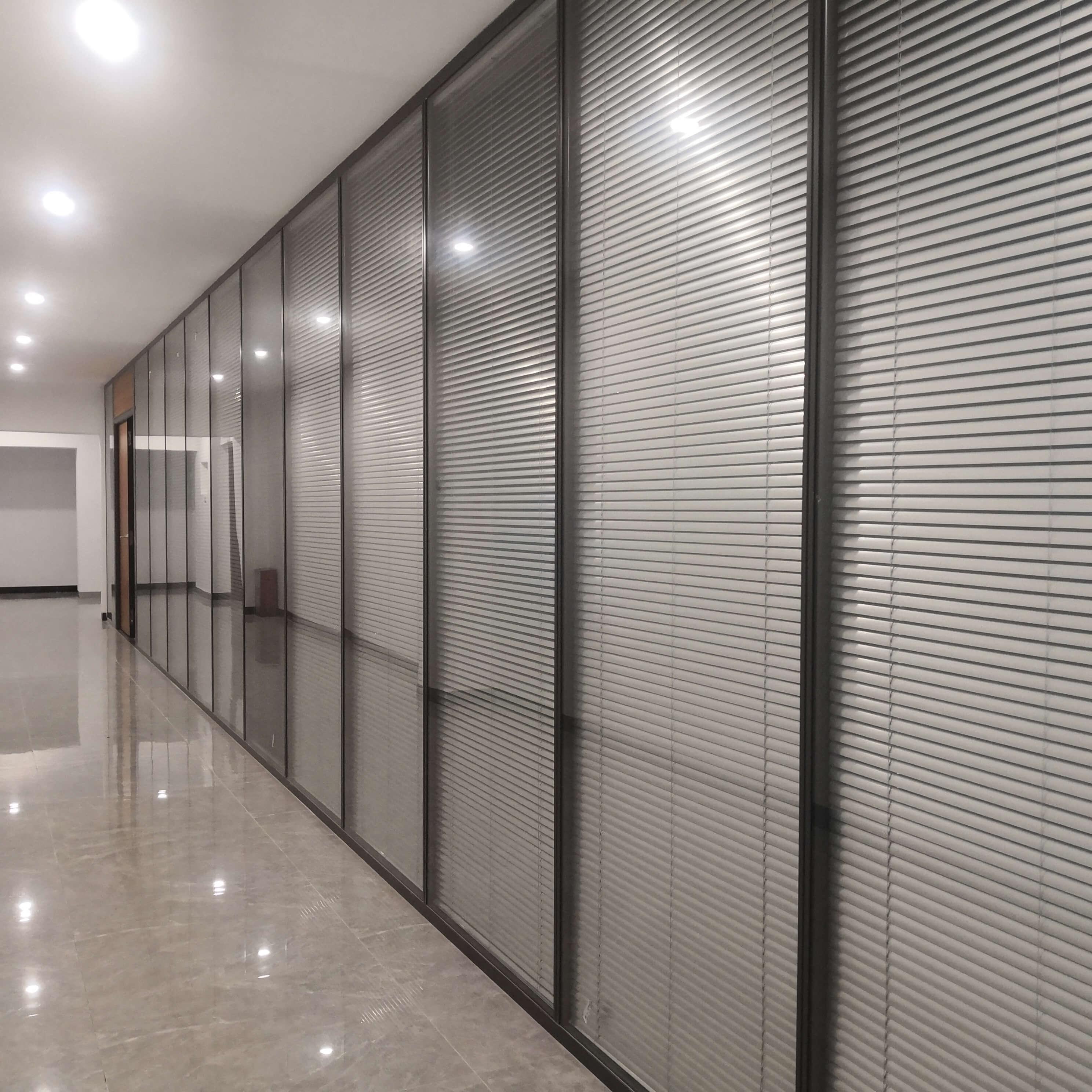 办公玻璃高隔断安装需注意哪些细节