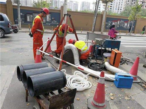 城市排水管道清理很重要