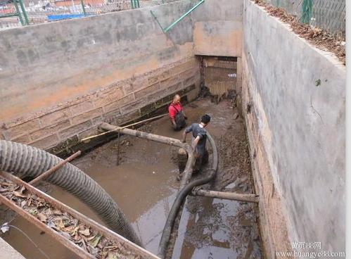 江门清理泥浆池技巧