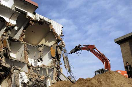 挖掘机拆除工程施工的方案及措施