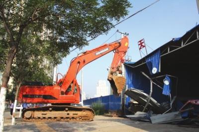 挖掘机在拆除工作完成以后应该怎么做
