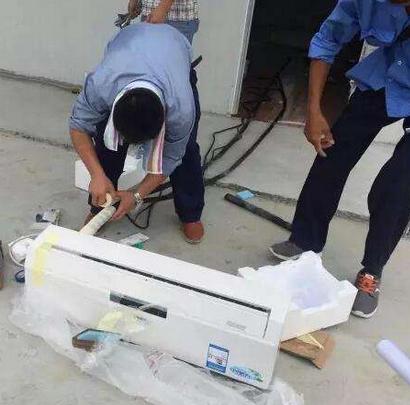 南宁格力空调维修拆除保养移机