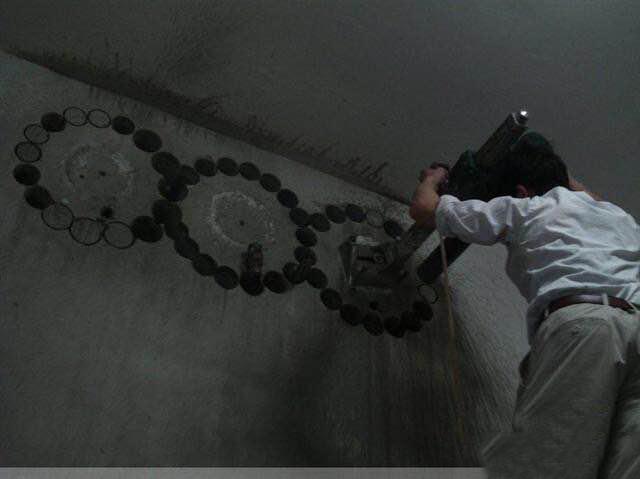 专业水钻开通风洞,钢筋混凝土切割的注意事项