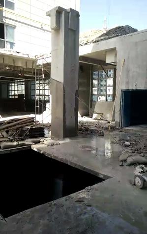混凝土切割技术拆除建筑物十分有效