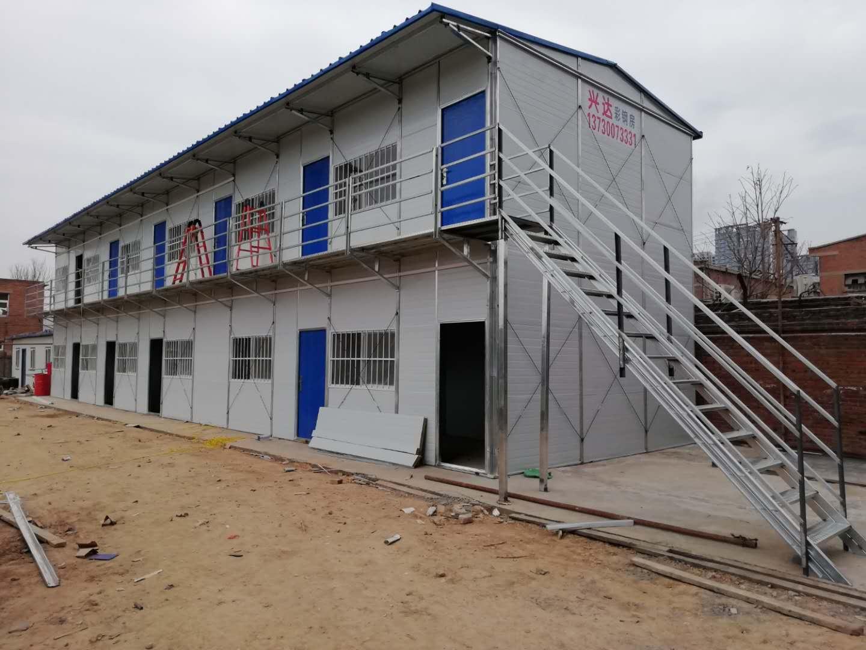 邯郸彩钢板房工程的设计制作
