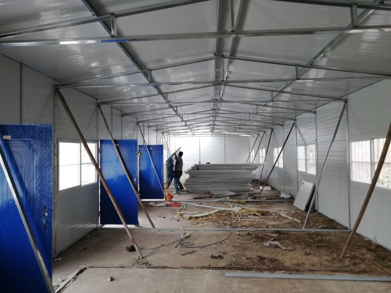 邯郸彩钢板生产厂家/彩钢活动板房制作