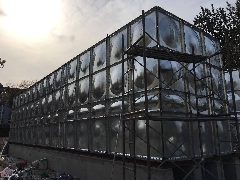 北京镀锌钢板水箱厂家定做生产价格
