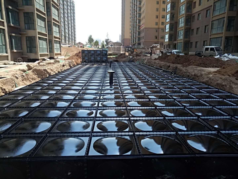 北京地埋镀锌水箱安装定制价格