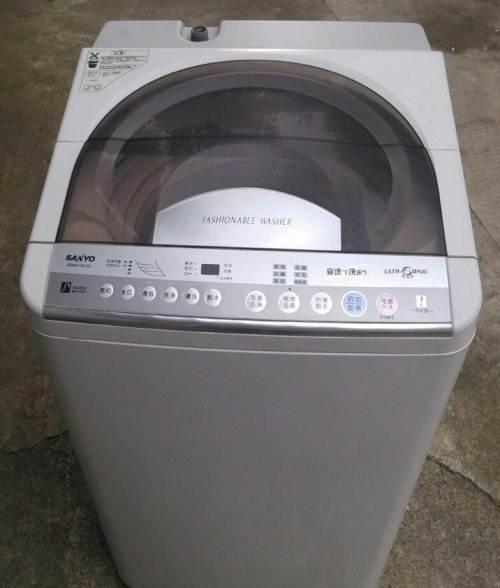 三洋全自动洗衣机甩水不干净的处理方法