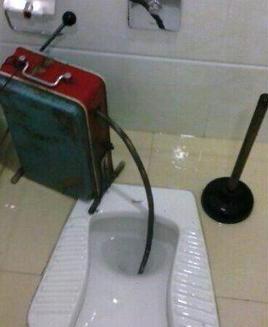 简单实用的下水道清洗方法