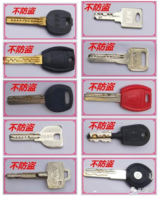片子锁(层碟制栓锁)的开锁方法
