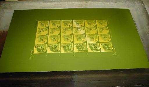 丝印网版制作过程