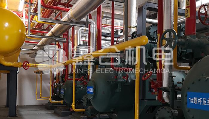 合肥冷库核心制冷设备安装