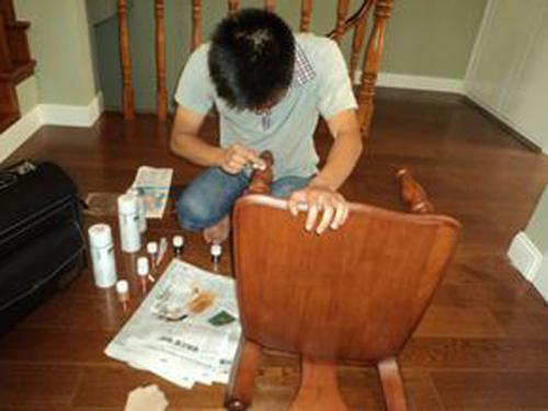 家具维修所用材料与工具