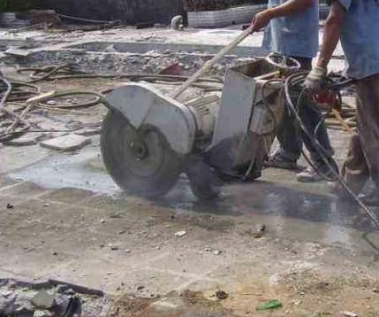 混凝土切割的技术原理和工作流程