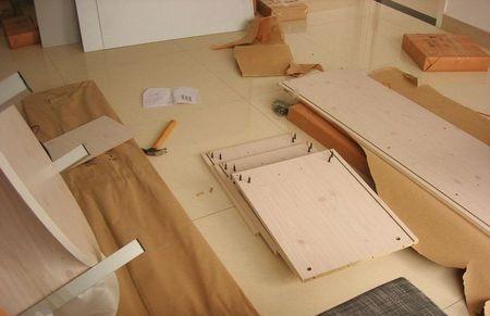 家具拆卸要了解结构和组装模式