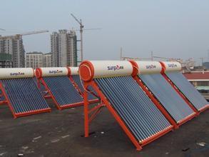太阳能维修,太阳能真空管损坏