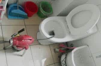 厕所马桶等管道堵了怎么办