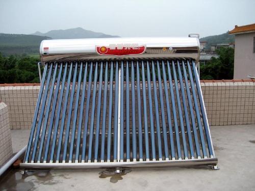 太阳能热水出水不畅、出水量小