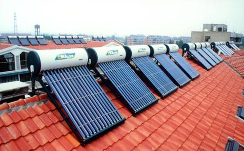 太阳热水器安装误区