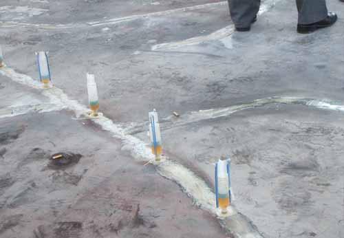 天花裂缝灌浆防水维修工程业绩表