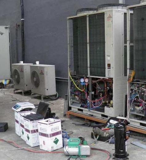 青岛中央空调压缩机维修