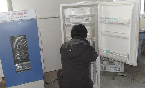 冰箱制冷剂的排放方法