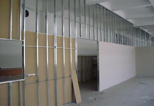 石膏板隔墙施工工艺