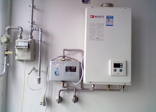 热水器维修现场查看方法