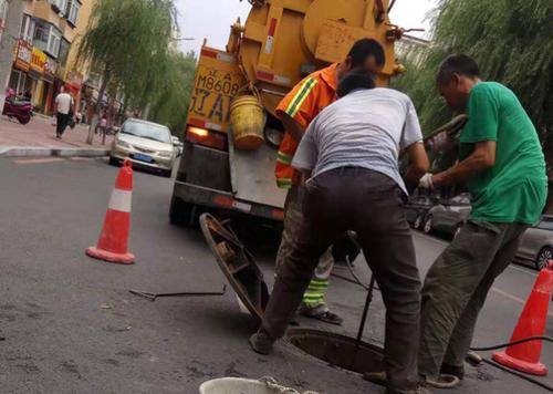 管道清淤疏通施工