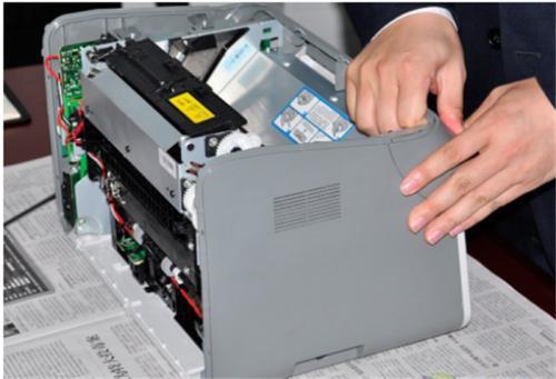 打印机加墨的操作方法