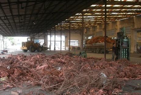 关于废铜回收环保的处理方式