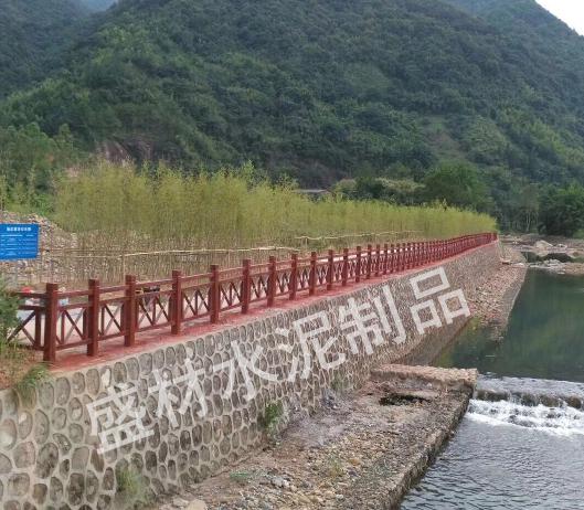 广东省水泥仿木栏杆生产厂家