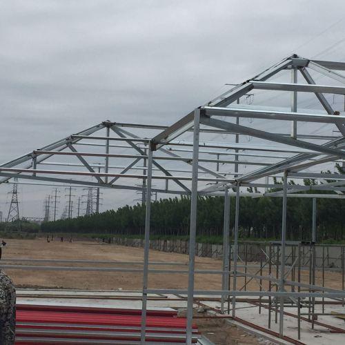 钢结构厂房的建造步骤