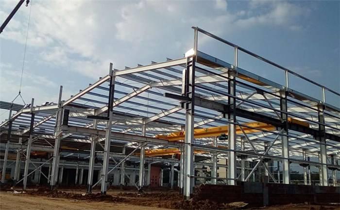 钢结构厂房地下工程及排水布局
