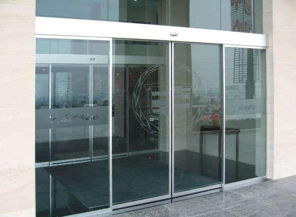 保定电动玻璃门有哪些功能