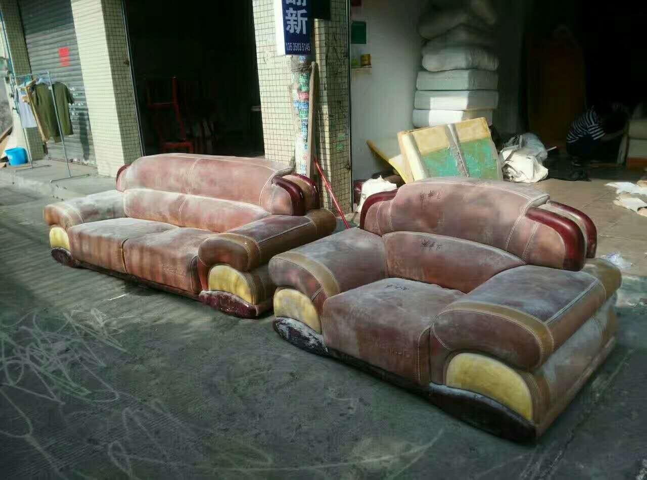 真皮沙发翻新怎样选皮革